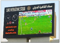 Mutil Color 8500 CD Brightness Football Stadium Screen , Commercial Panel Display Systems