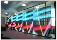 P16 / P30 / P50 Advertising LED Media Facade Display 3R2G2B with Front Maintenance