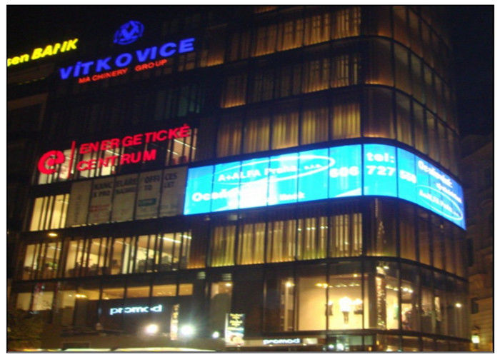P3.91 P7.8 P10.41 Outdoor Window Store / Jewelry Exhibition Hall P10 LED Screen for Transparent Video Advertising